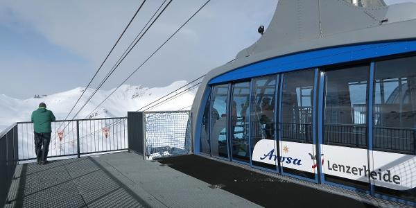 Die Urdenbahn verbindet Arosa und die Lenzerheide.