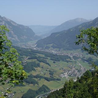 Blick Richtung Glarner Mittelland