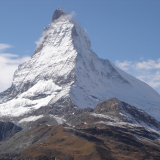 Das Matterhorn - Mittelpunkt dieser Tour