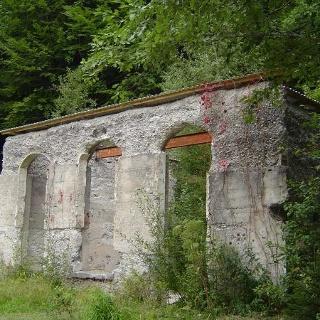 Ruinen des Weissenburgbads