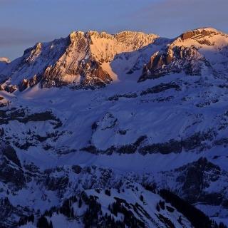 Winterlandschaft Lenk-Simmental