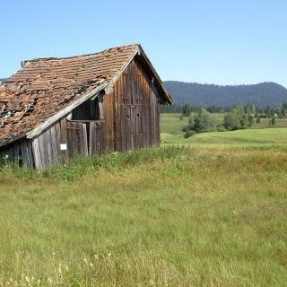 Alte Turpenhütte im Rothenturmer Hochmoor