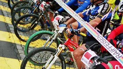 Startlinie des Iron-Bike-Race