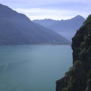 Lago di Mezzola - foto: Angelo Miramonti
