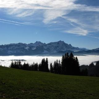 Gäbris - Blick auf den Alpstein