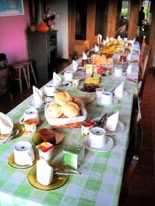 Fernanda's Frühstückstisch