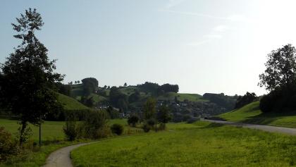 Auf dem Landweg nach Adligenswil