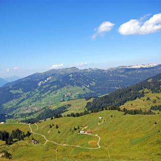Lombachalp view Habkern