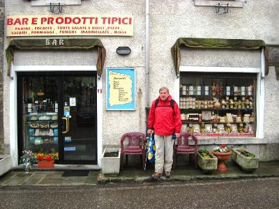 Shop on the Passo della Cisa