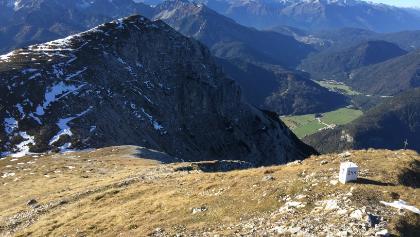 Blick zur Brunnsteinspitze