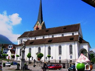 Kirche Peter und Paul in Stans