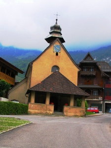 Ankunft in Lungern