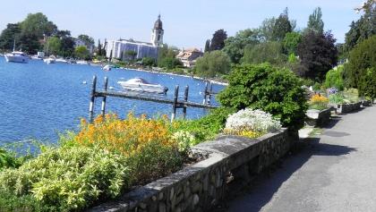Seepromenade bei Morges