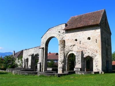 Rüeggisberg:  Klosterruine