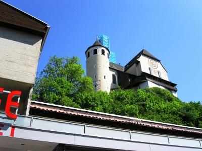 Rankweil: Basilika und Burg