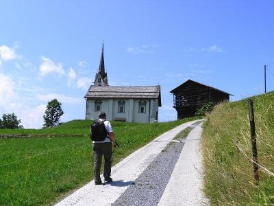 Kirche Sogn Glieci bei Siat