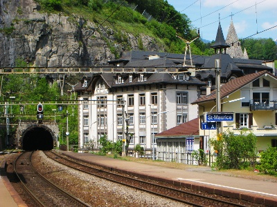 Bahnhof St-Maurice