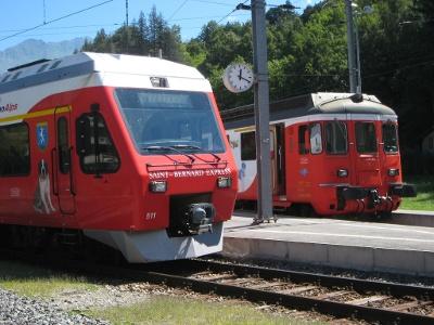 Saint-Bernard Express in Sembrancher