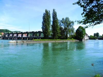 Rheinkraftwerg Augst