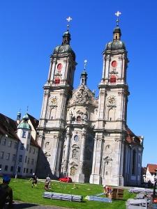 barocke Kathedrale im Stiftsbezirk St. Gallen