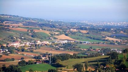 die ersten Hügel des Val Bidente
