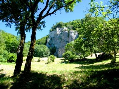 auf diesen Felsen liegt La Verna