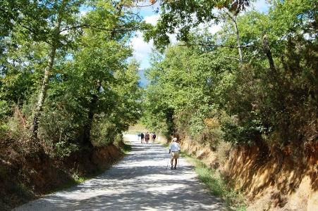 Abstieg Richtung Fabro