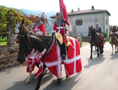 Folklore bei Montestrutto