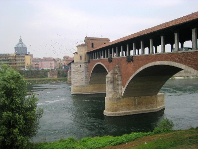 Ponte Coperto a Pavia