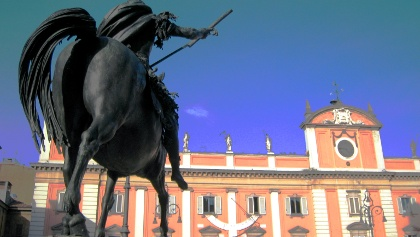Piazza Dei Cavalli at Piacenza