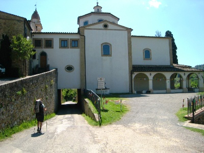 Pilgrimage church Santuario di Pancole
