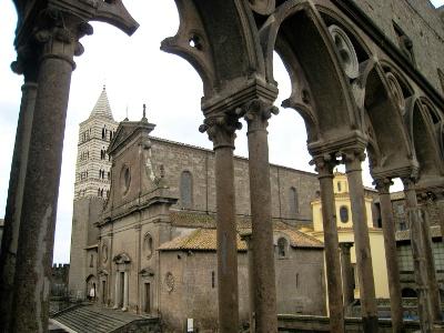 Viterbo cathedral San Lorenzo