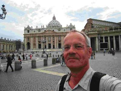 Petersdom erreicht: Fotograph Robi