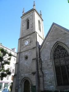 Genève: «Holy Trinity», église anglicane