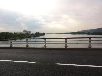 Pont sur le Rhône à Chavanay