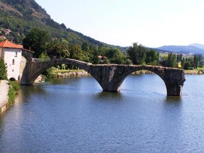 römische Loirebrücke bei Brives-Charensac