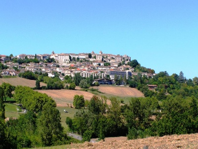 Blick auf Le Chartron-Céramique