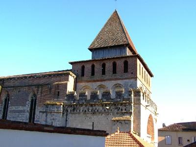 Moissac: Benediktinerabtei - oder Festung?