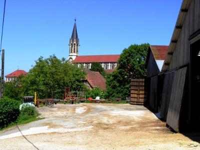 Réchésy: ein Bauerndorf mit einer Kathedrale