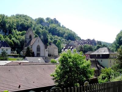 Ferrette: Kirche (12. Jh)