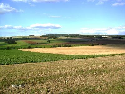 Farben einer schönen Landschaft