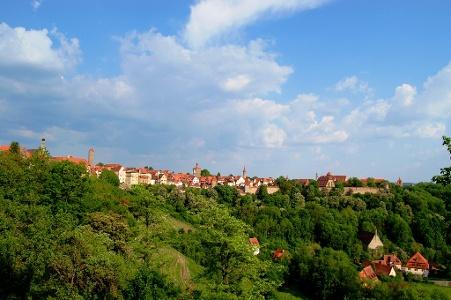 Abschied von Rothenburg