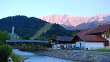 Via Romea: Garmisch-Partenkirchen - Mittenwald