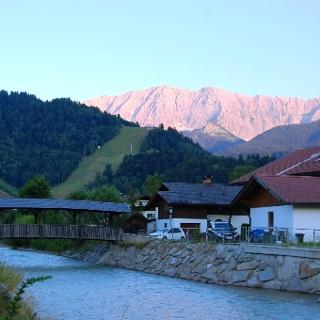 Garmisch Partenkirchen am Morgen