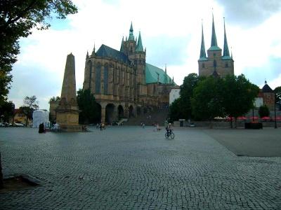 Erfurt: Dom und Severikirche