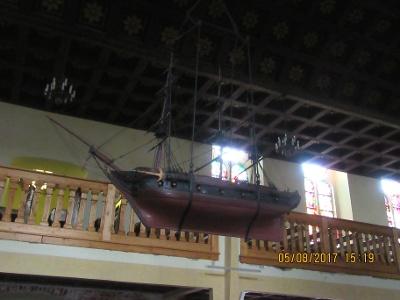Schiffsmodell stammend aus Gemeinde bei Stade