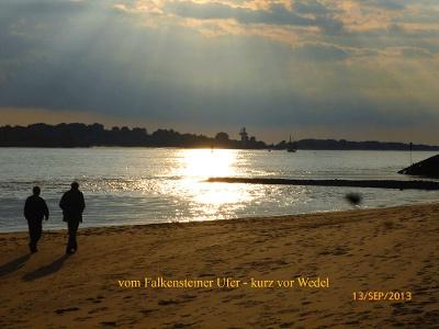 stimmungsvolles Falkensteiner Ufer