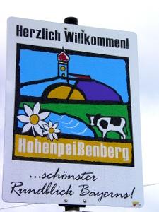Hohenpeißenberg: schönster Rundblick