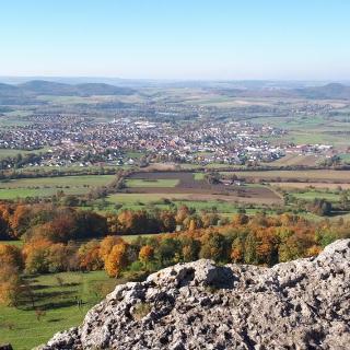 Blick vom Staffelberg in das Maintal