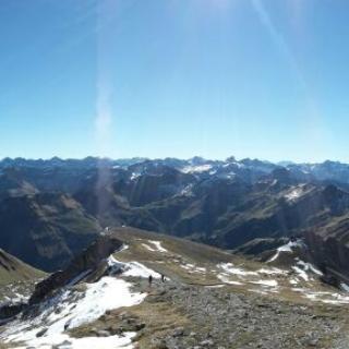 Panoramablick vom Großen Daumen